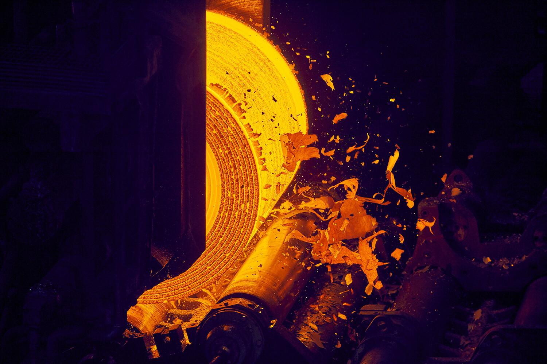 enroulage acier corten
